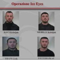 Sgominata la banda dagli occhi di ghiaccio: rapinavano ville e aziende tra