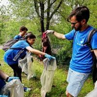Studenti universitari in gara per pulire il Valentino