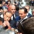 Il ritorno del Cavaliere, applausi e fischi per Berlusconi in centro a Torino con Cirio