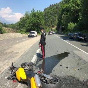 Scontro tra motociclette in Val di Susa: un morto e un ferito gravissimo