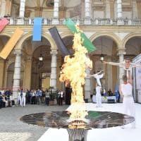 Parte da Torino la fiaccola della trentesima Universiade