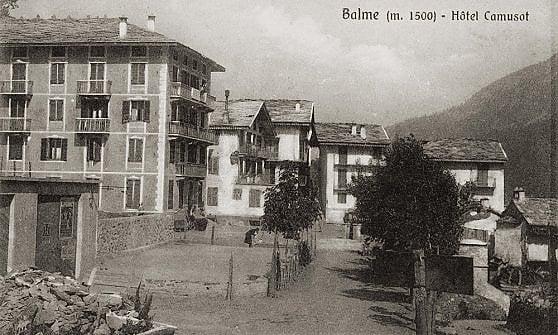 In fiamme l'hotel di Balme che ospitò Carducci e la regina Margherita