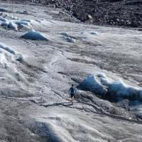 Il Forrest Gump torinese, tra i ghiacci per denunciare il cambiamento climatico