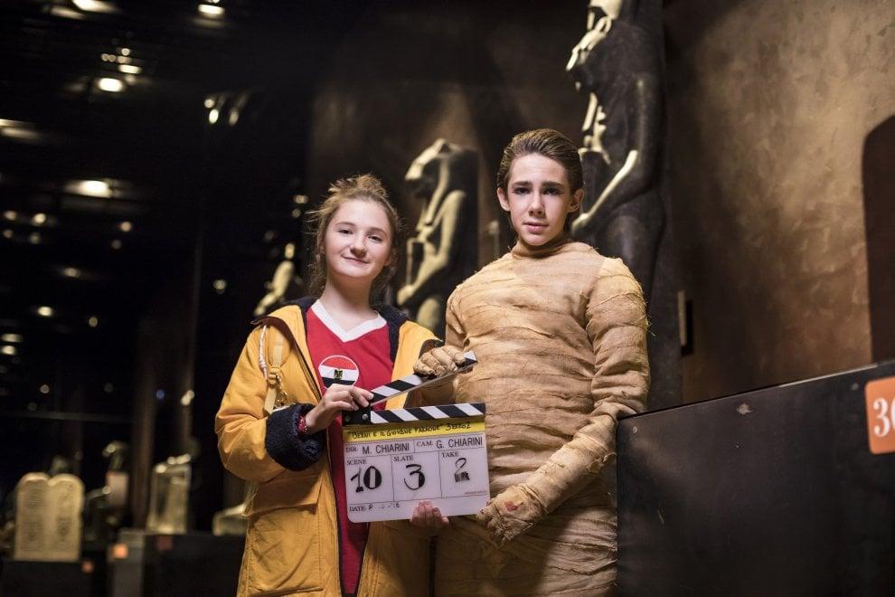 """""""Berni e il Giovane Faraone"""", il fantasy della Disney ambientato al museo Egizio di Torino"""