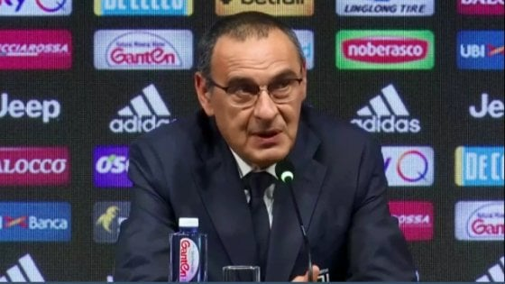 """Sarri: ''La Juve il coronamento di una lunga carriera. Il Napoli? Non mi sento un traditore"""""""