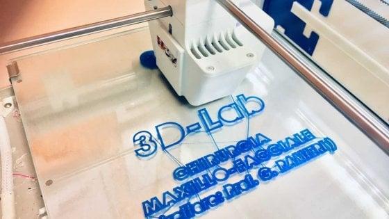 Sanità, un laboratorio 3D in reparto per ricostruire i volti dopo i traumi