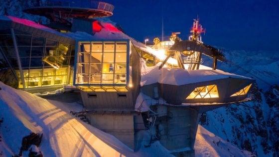 Una libreria tra i cieli e i ghiacciai del Monte Bianco: si raggiunge solo in funivia
