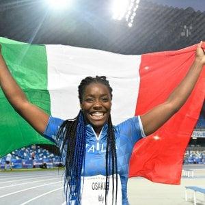 Atletica, il primo oro dell'Italia nell'atletica alle Universiadi lo conquista la torinese Daisy nel lancio del disco