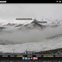 La neve di mezza estate sulle Alpi del nord ovest
