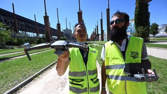 Torino, a Parco Dora arriva l'area per sperimentare i droni