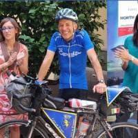 In bici da Venaria a Capo Nord, il dipendente comunale tenta l'impresa