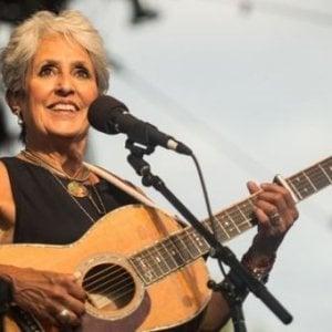 Joan Baez al Flowers Festival, Dellera live a Off Topics