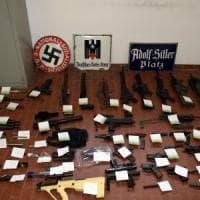Estrema destra, scoperte altre armi in una casa di Fabio Del Bergiolo