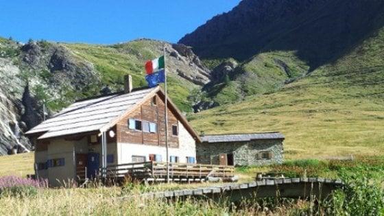 Frana in Valsusa, evacuato il rifugio Scarfiotti di Rochemolles