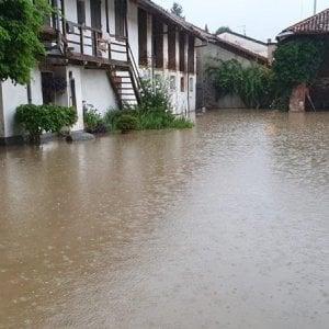 Estate al tramonto, forti temporali sul Piemonte sud-occidentale