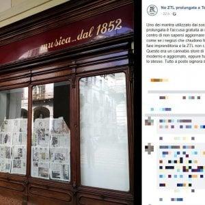 """""""A Torino negozio chiude a causa della Ztl"""". Ma il titolare nega: """"Colpa del mercato"""""""