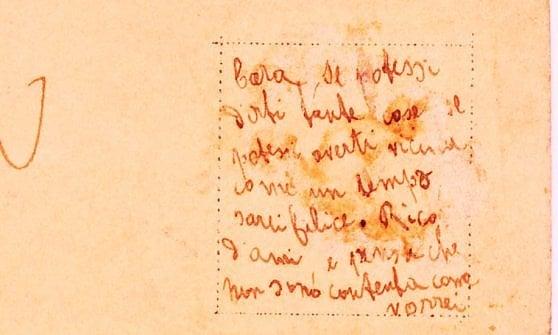 """""""Non sono contenta come vorrei"""": il messaggio nascosto del 1909 fa scattare la caccia ai discendenti"""