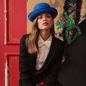 Una modella transgender per i cappelli della Borsalino
