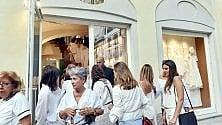 Tutte in bianco per la nuova boutique S.Carlo