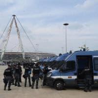 Juve Stadium blindato per la prima partita dopo l'arresto dei capi ultrà,