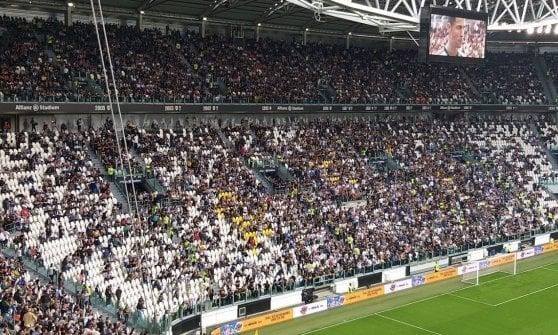 Juve Stadium blindato per la prima partita dopo l'arresto dei capi ultrà, 50 tifosi identificati