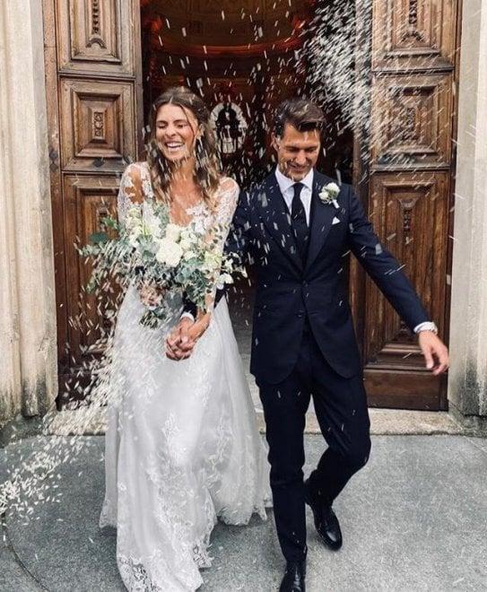 Le nozze alla Reggia di Cristina Chiabotto
