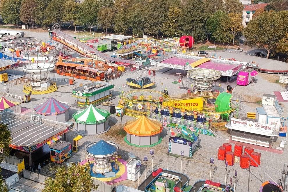 Viaggio nella tristezza del luna park della Pellerina senza bambini
