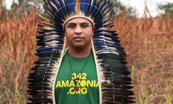 """I leader indigeni dell'Amazzonia in visita a Torino per rivendicare il """"diritto di esistere"""""""