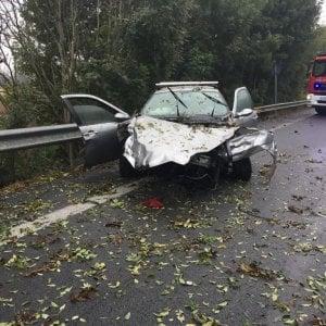 Incidente sulla provinciale a Leinì: due morti e tre feriti
