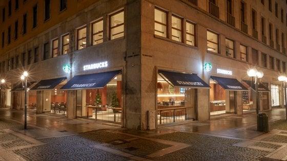 Apre il primo Starbucks di Torino: è il più grande d'Italia