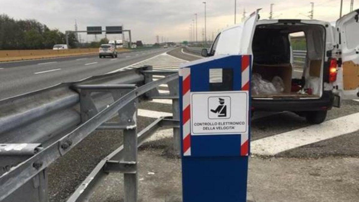 Sull'autostrada Torino-Milano spunta un nuovo autovelox - La Repubblica