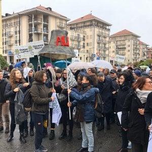 Rivoli: il ministro Fioramonti alla marcia per ricordare Vito Scafidi
