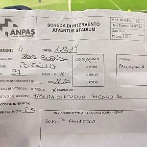 """Torino, la tifosa bianconera: """"Emre Can mi ha spaccato gli occhiali con una pallonata"""""""