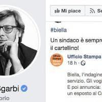 Biella, Sgarbi in difesa di Corradino: