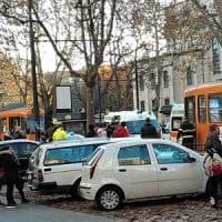 Scontro tra due tram in corso Tassoni: feriti l'autista e 13 passeggeri
