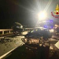 Scontro frontale a Galliate, due donne  ferite