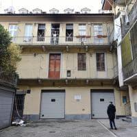 Torino, il palazzo dell'incendio