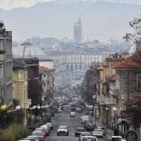 Torino prigioniera dello smog in dieci scatti