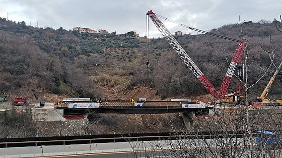 Autostrada Torino-Savona, il 21 febbraio si inaugura il nuovo viadotto dopo il crollo di fine novembre