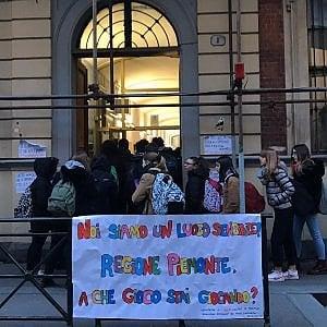 Protesta in 80 scuole del Piemonte contro la modifica alla legge sul gioco d'azzardo