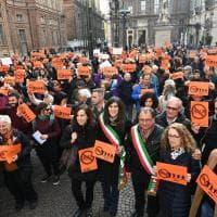 Torino in piazza contro l'Allontanamento zero