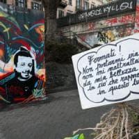 Un murale per ricordare Stefano Leo,