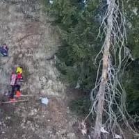 Courmayeur, bambini bloccati in un canalone per recuperare il bob: salvati