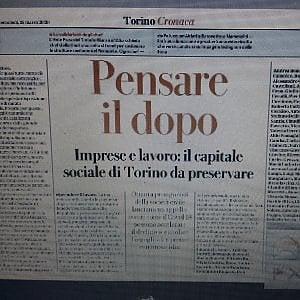 Pensare il dopo: imprese e lavoro il capitale sociale di Torino da preservare