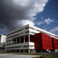 L'ospedale per pazienti Covid 19 con vista sulle Langhe