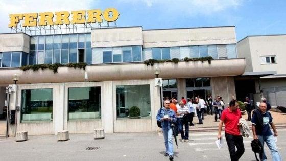 Ferrero, 750 euro ai dipendenti che hanno lavorato nei giorni del coronavirus