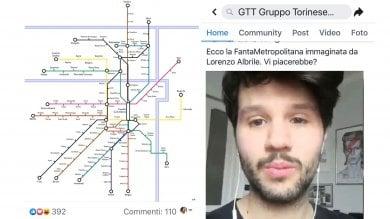 Fanta-metropolitana, il progetto del giovane torinese conquista Gtt e InfraTo