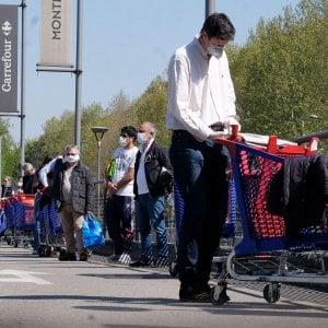 Coronavirus, Il giorno di Pasqua scioperano i lavoratori del commercio contro Cirio