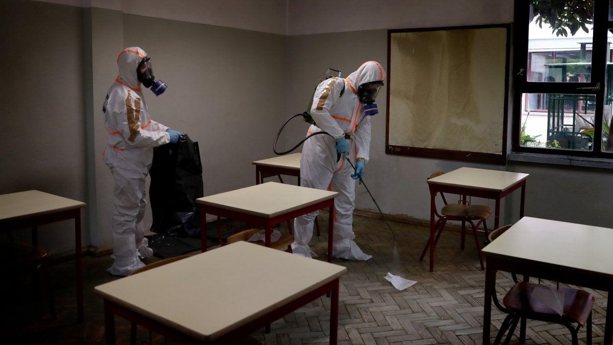 Italia Arreda Borgaro Torinese torino, simulazione in cinque scuole per la riapertura a