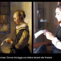"""Novanta studenti """"indossano"""" i capolavori della pittura barocca"""